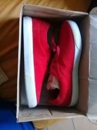 Sapato aveludado Novo