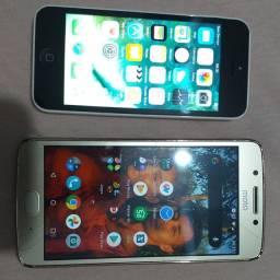 IPhone 5c + Moto G5 s 32 GB
