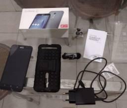 Asus Zenfone 2 ZE551ML 64GB 4G Ram Android Prata, Zerado Sem Marcas de Uso e Completo!