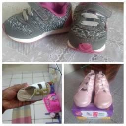 3 Pares de sapato infantil