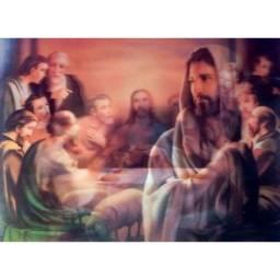 Título do anúncio: Imagem 3D de Jesus Santa Ceia