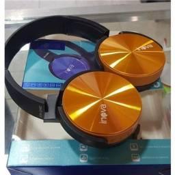 Fone De Ouvido Inova Headphone Bluetooth Sem Fio