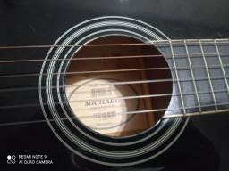 Violão nylon acústico da marca Michael