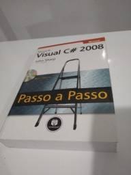 Livro Visual C# 2008 passo a passo, Ótimo Estado !!