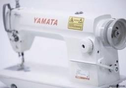 Máquina de Costura Reta yamata Industrial FY8700 Nova Completa