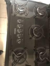 Cooktop 5 bocas Itatiaia funcionando perfeitamente