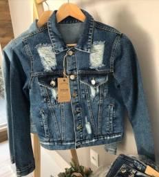 Jaqueta jeans destroyer