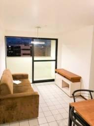 Alugo apartamento semi mobiliado na Ponta Verde