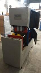 Sopradora Pet semi automática de 02 cavidades até 2 lts
