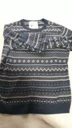 Malha/Blusão de lã