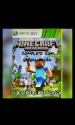 Jogo Xbox 360 Transferência de licença