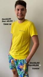 Camisa Peruana osklen e Short Mauricinho