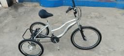 Triciclo Dream Bike Top freio a disco