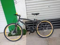 Bicicleta freios a disco