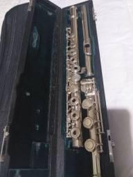 Flauta transversal altus azumi az3000rbo prata maciça
