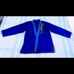 Kimono Koral Cor Azul Tamanho A3, Estado: Usado