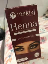 Vendo Henna para sobrancelha