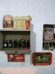 Coleção Coca Cola, com itens raros e antigos.!