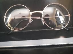 Óculos aramado redondo - estilo Julieta. Dourado