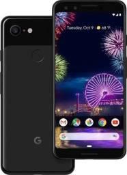 Google Pixel 3 Black zerado com case original estudo trocas