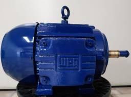 Motor WEG 7,5cv, 2 pólos, Trifásico - Usado