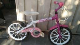 Bicicleta para criança aro 16 de menina