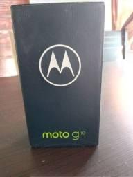 Moto G10 novo na caixa