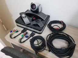 Sistema de vídeo Conferênvia Polycom HDX 8000 Completo
