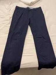 Calça dudalina azul marinho 46 masculino. Usada 1x.