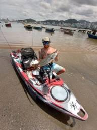 Caíaque de Pesca Completo