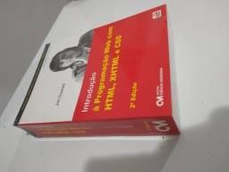 Livro Introdução à Programação Web com html, xhtml e css 2° edição Jon Ducket