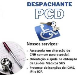 Título do anúncio: Despachante PCD e Laudos Médicos do SUS