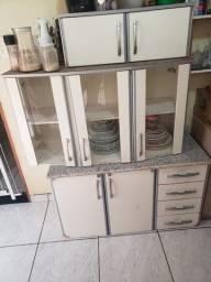 armario de cozinha 2 peças, sem o armario de geladeira