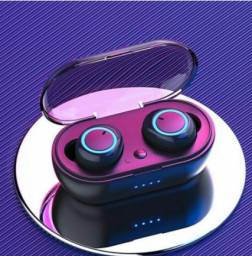 Fone de Ouvido sem Fio Bluetooth Y50 TWS