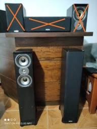 Caixa torre polk audio tsi 300. (Somente as Torres)