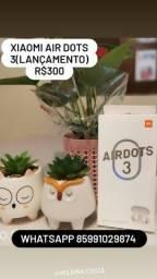 Fone XIAOMI AIRDOTs 3 Bluetooth 5.2 APTx(Lançamento)
