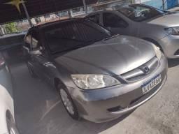 Civic LX 1.6 2006(Completo+Gnv) ent:3mil+ 48X 550,99 IPVA PAGA PELA LOJA