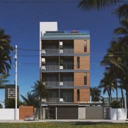 Apartamento com 02 quartos e varanda gourmet no Bairro do Intermares-PB