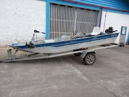 Barco 5 metros com carretinha