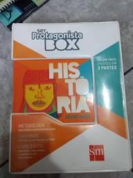 Box História - Ser Protagonista SM - Ensino Médio