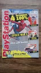 Título do anúncio: Revista PlayStation n° 101 conservada - Spider Man 3