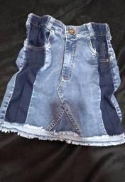 Saia Jeans Nova Número 36