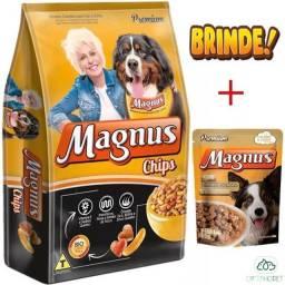 Ração magnus chips 25kg