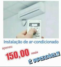 Instalacão de ar condicionado em toda joao pessoa
