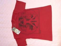 Vendo camisa de malha ,manga curta ,com etiqueta,nova, marca TIGOR T. TIGRE  N. 12.