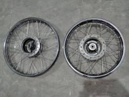Rodas 14 e 17 Original Honda + Par de Pneus Levorin Matrix
