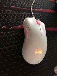 (Combo) Teclado Mecânico OEX phantom Branco + Mouse OEX Branco