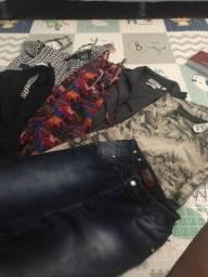 Lote de roupas desapego