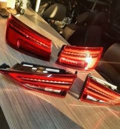 Jogo de Lanternas Full Led Audi A3 Sedan 2020 Se detalhes de Uso