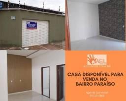 Casa disponível para venda e locação no Bairro Paraíso